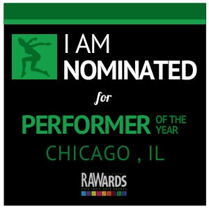 RAWards performer of the yr