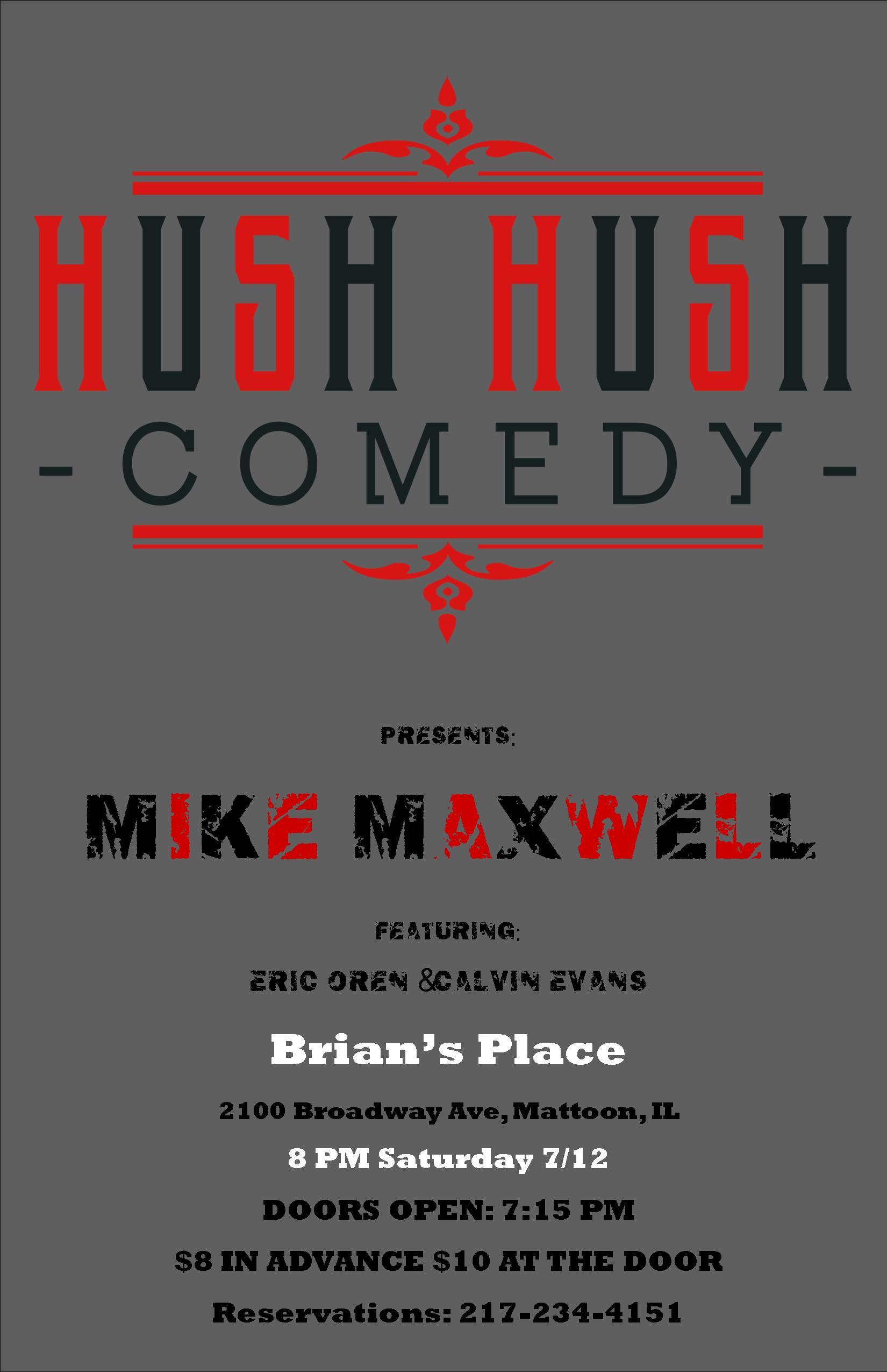 hush hush brians place 71214